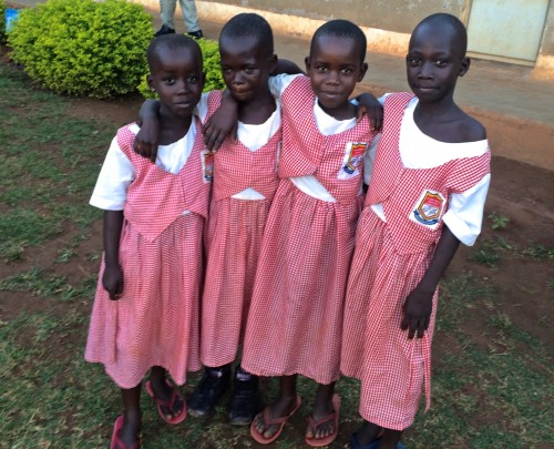 A group of friends from our Inclusive Education project in Uganda.