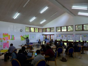 Workshop in progress in Arusha, Tanzania