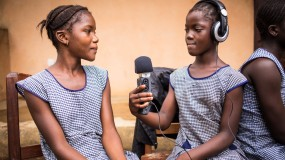 Our Ebola radio project wins global recognition  thumbnail