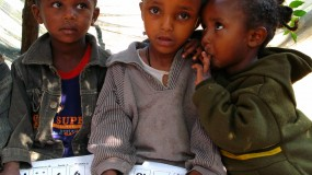 An enthusiastic project participant in Ethiopia  thumbnail