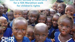 A Marathon Walk for children's right to participate in society  thumbnail