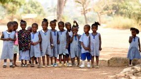 Students in HAV project support children without parental care in Sierra Leone  thumbnail
