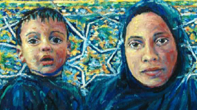 Children fleeing extremism  thumbnail